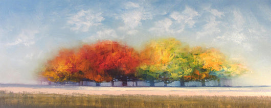 Warmth Of Fall Oil Painting