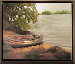 Lake Hamlin 2 Oil Painting Framed