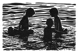 Night Swim IV Giclee