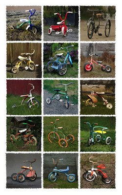 Fifteen Tricycles Giclee