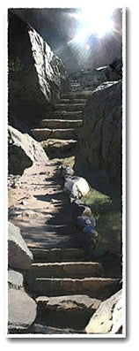 Mountain Stair Giclee