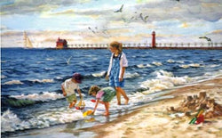 Day At The Big Lake Giclee