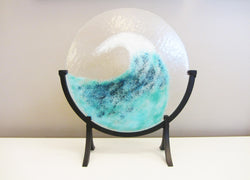 Blue Wave Plate With Stand