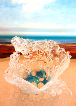 Breaking Waves Vase