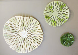 Sea Glass Wall Medallions Grouping