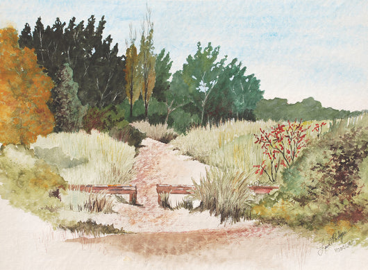 Beach Path At Riley Giclee
