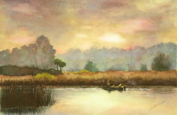 Early Morning On Lake Hamilton Giclee