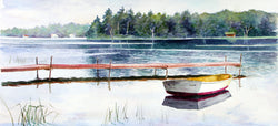 Lonesome Boat Giclee