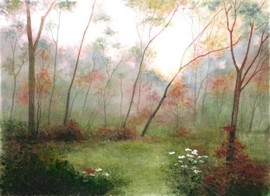 Morning Fog Giclee