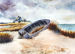 The Derelict Giclee