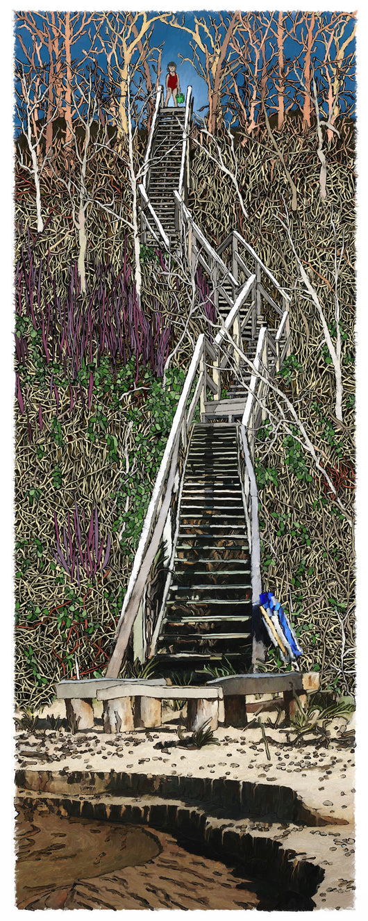 Long Way Down Giclee