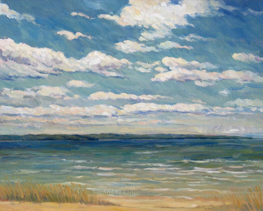 Windy Day, Stoney Pt. Giclee