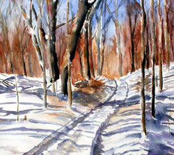 Winter Path Giclee