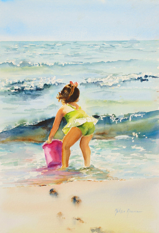 Catch A Wave Giclee
