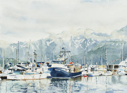 Dawn In Seward Giclee