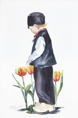Don't Pick The Tulips Giclee