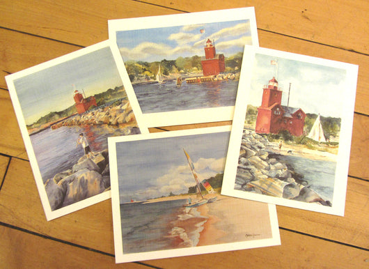 Lighthouse Note Card Set