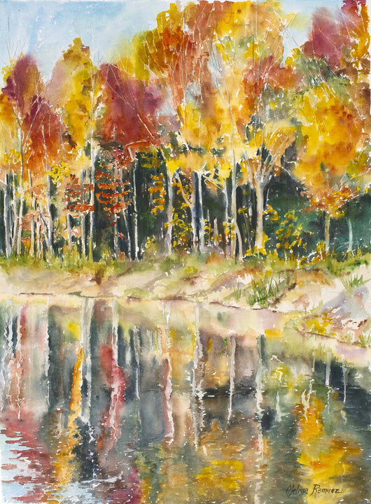 Reflections Of Autumn Giclee