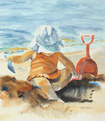 Sandy Days Giclee