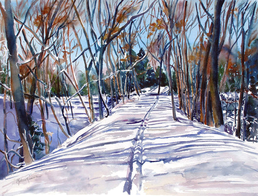 Fresh Tracks Giclee