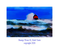 Bumpy Water II  Grand Haven Giclee
