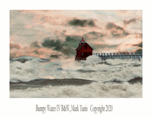 Bumpy Water IV Grand Haven Giclee