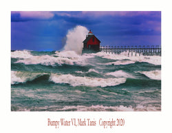 Bumpy Water VI Grand Haven Giclee