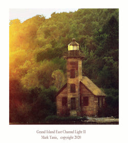 Grand Island East Channel Light II Giclee