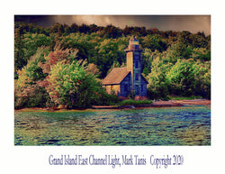 Grand Island East Channel Light Giclee