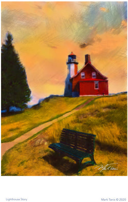 Lighthouse Story Giclee
