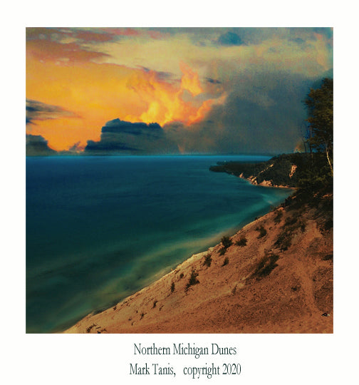Northern Michigan Dunes Giclee