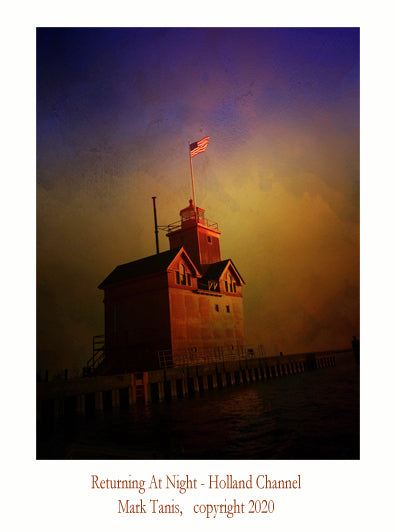 Returning At Night-Holland Channel Giclee
