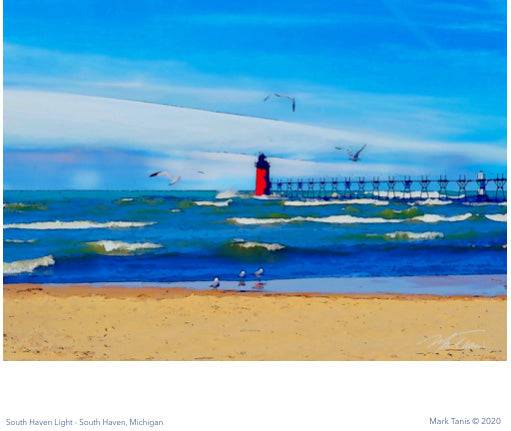 South Haven Light Giclee