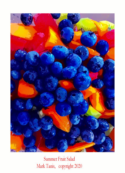 Summer Fruit Salad Giclee