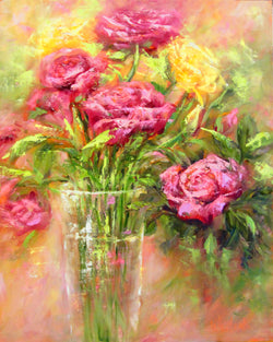 Birthday Celebration Oil Painting