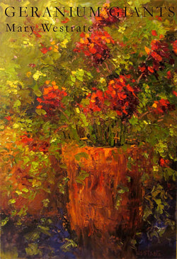 Geranium Giants Oil Painting