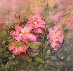 Pink And Sweet Oil Painting