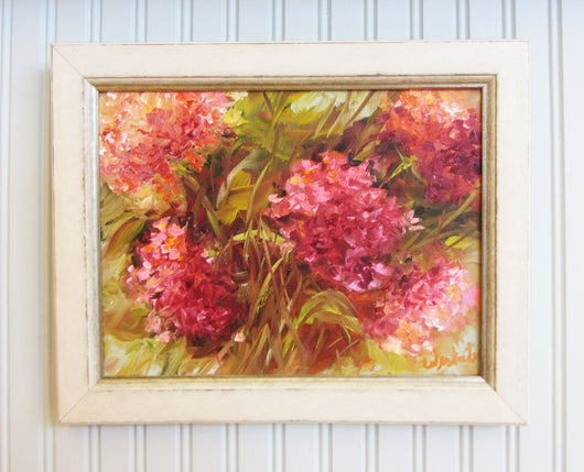 Summer Superstars Oil Painting Framed