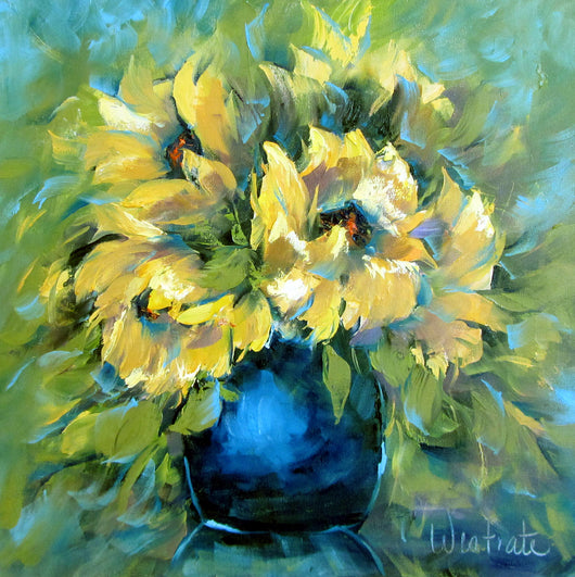 Sunny Bouquet Oil Painting