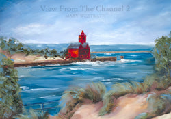 View From the Channel Giclee