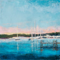 Safe Harbor I  Oil Painting