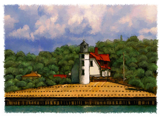 Point Betsie Lighthouse Giclee
