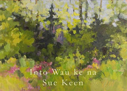 Into Wau Ke Na Acrylic Painting Framed