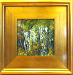 Out of the Woods Acrylic Painting Framed