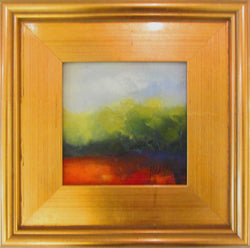 Silent Shade Oil Painting Framed