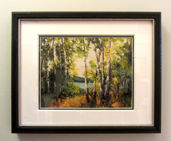 Windy Moraine Framed Giclee