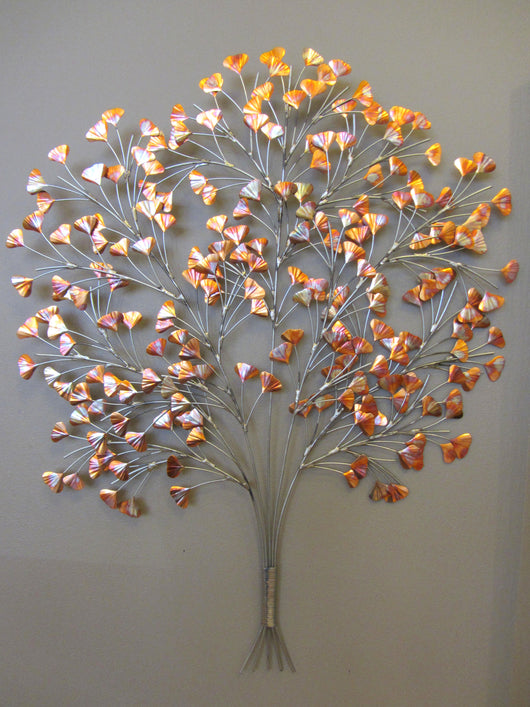Copper Ginkgo Tree