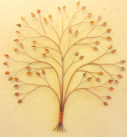 Curving Copper Tree