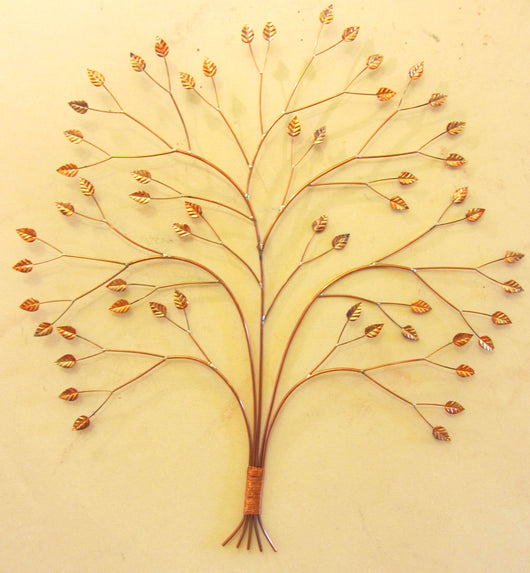 Curving Copper Tree Medium