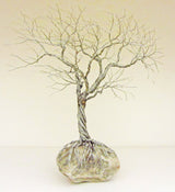 Deeply Rooted Tree Metal Sculpture
